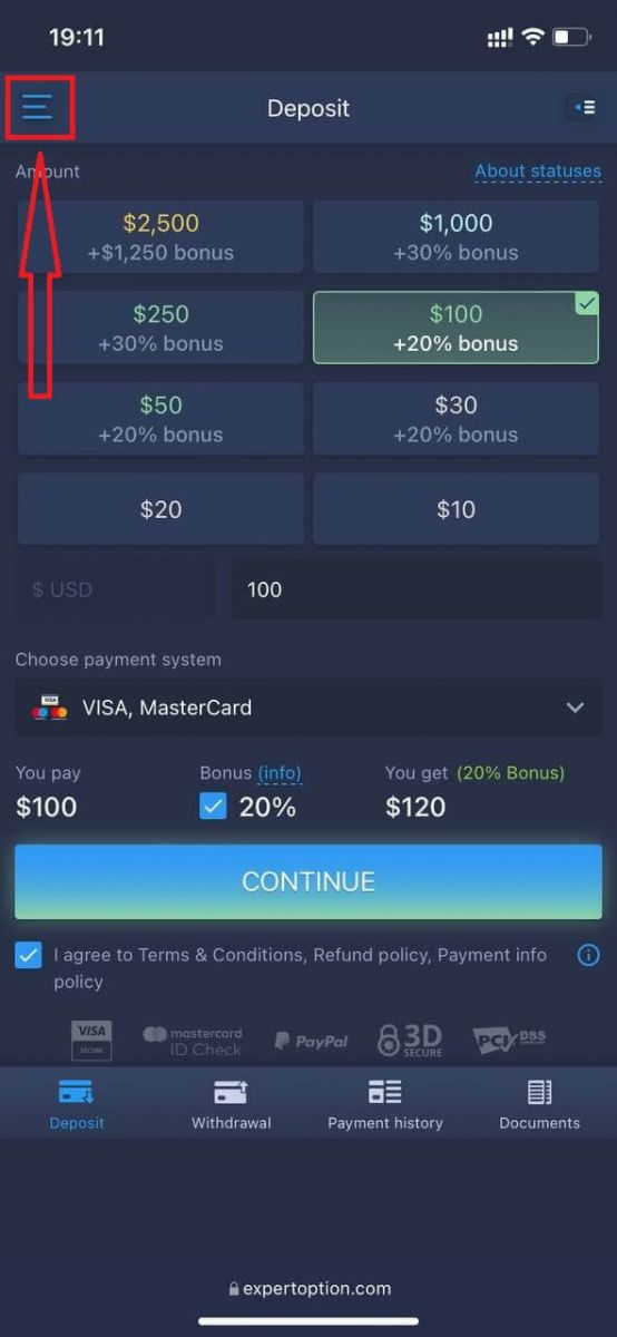 How to Register and Withdraw Money at ExpertOption